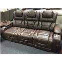 Power Headrest Recline Sofa