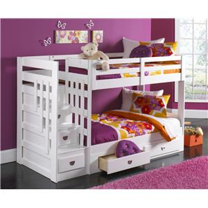 Coronado Ashton 4pc Bunkbed W/O Trundle