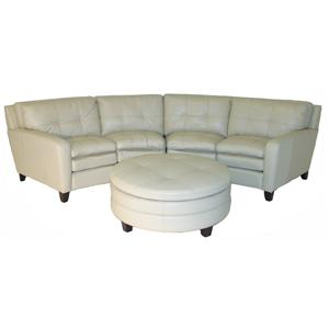 Craftmaster L1348 Conversation Sectional