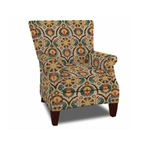 Craftmaster Accent Chairs Chair with Rolled Arm