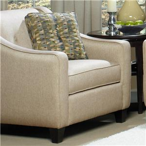 Craftmaster 706950 Chair and 1/2