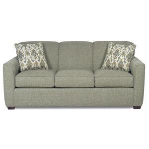 Craftmaster 725500 Sleeper Sofa w/ Memory Foam Mattress