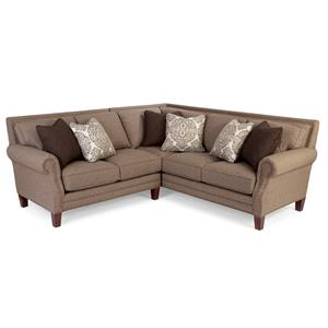 Craftmaster 747 2 Pc Sectional Sofa