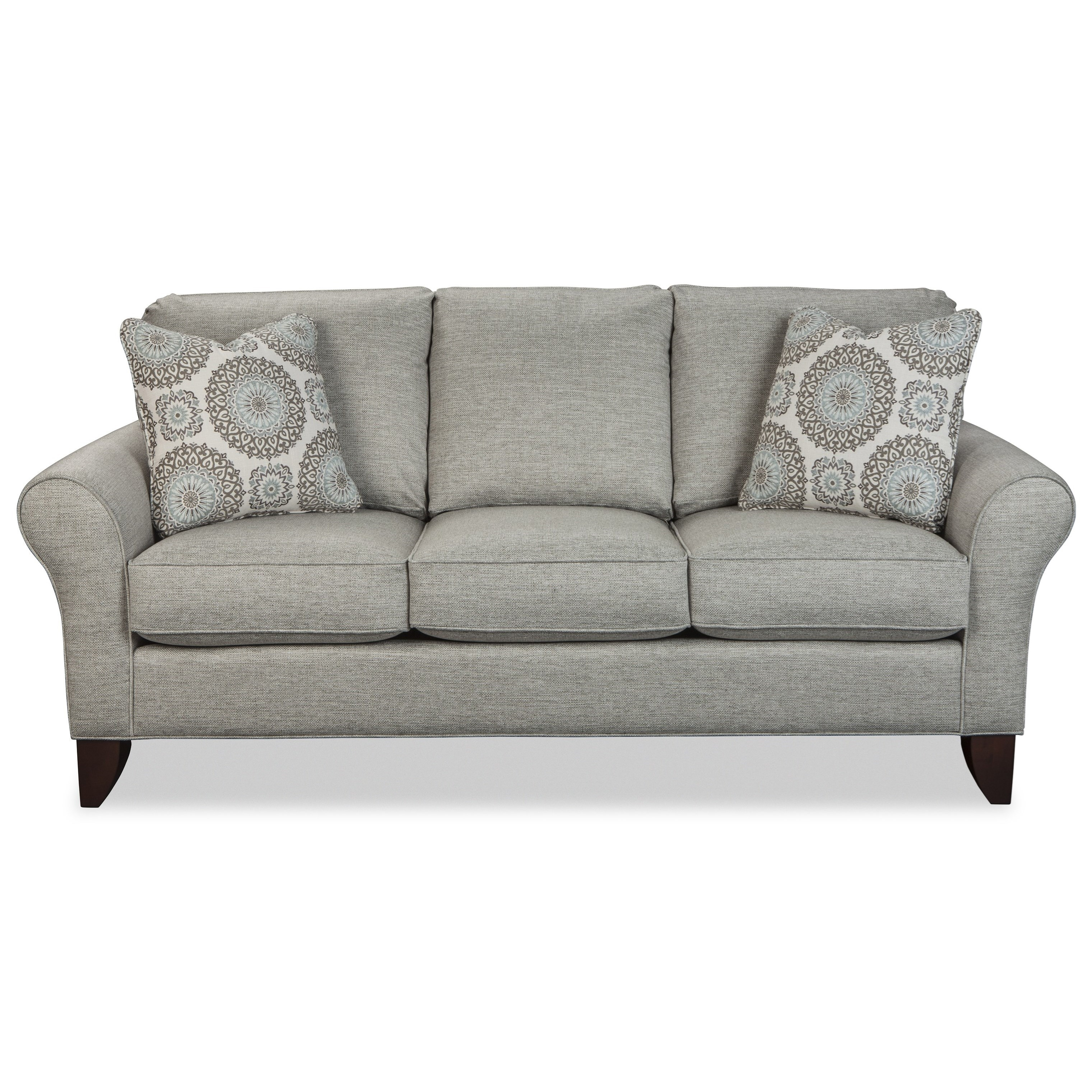 Transitional Small Scale Sofa by Craftmaster