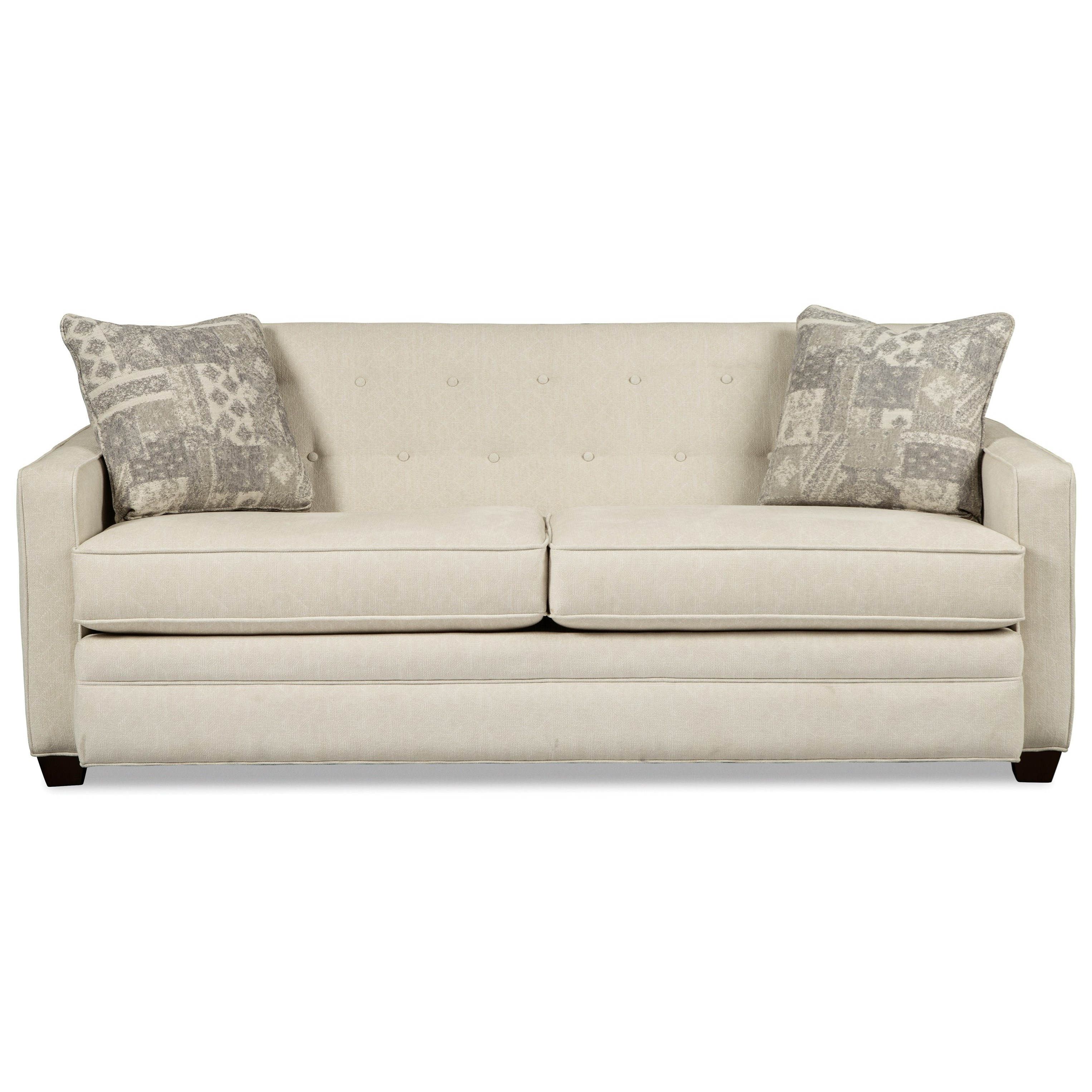 Contemporary Tufted Sofa by Craftmaster | Wolf Furniture