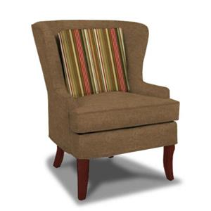 Craftmaster 9270 Traditional Upholstered Wing Chair