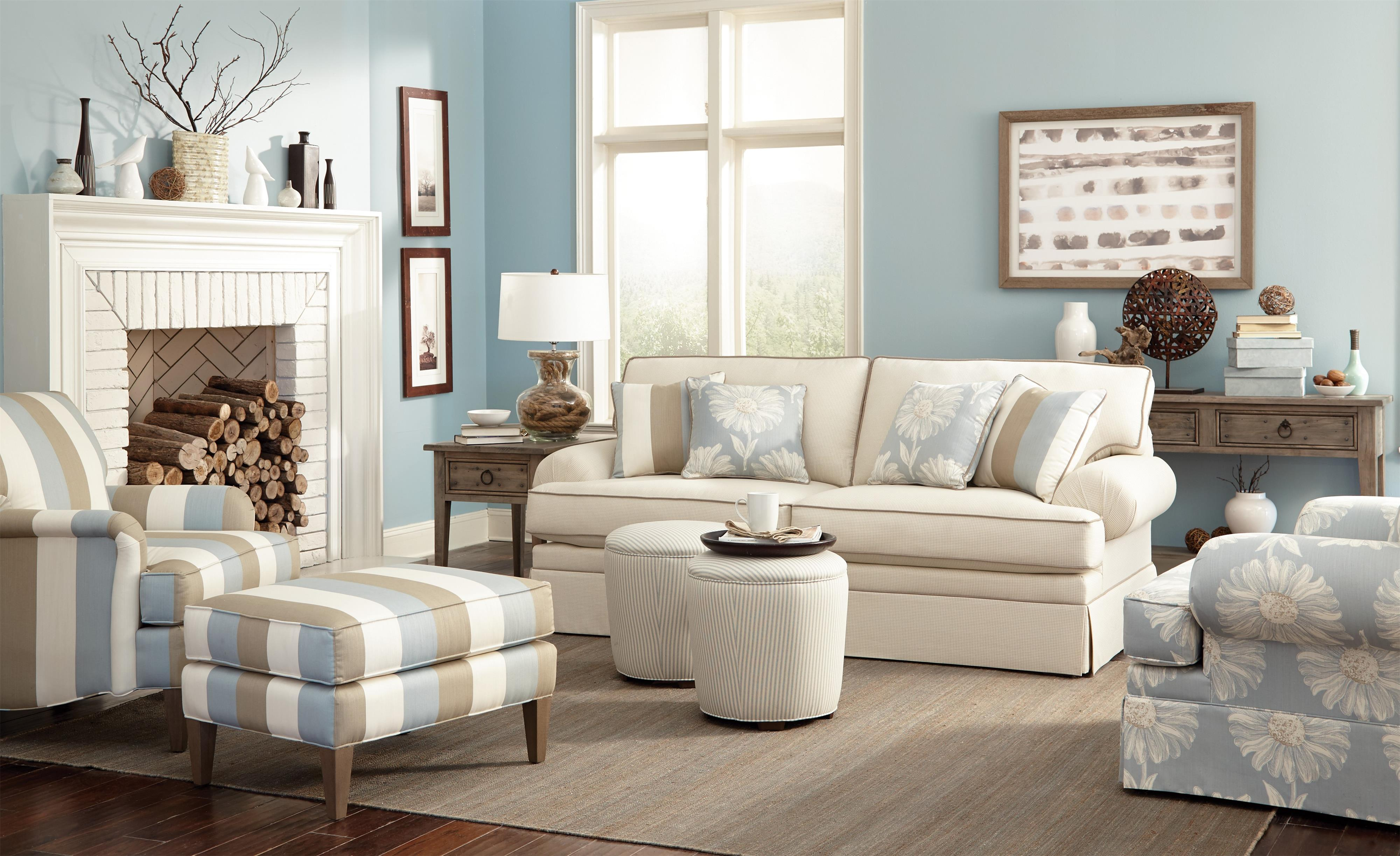 Transitional accent chair with english arms chair chair