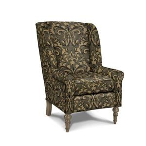 Craftmaster Accent Chairs Modified Wing Back Chair