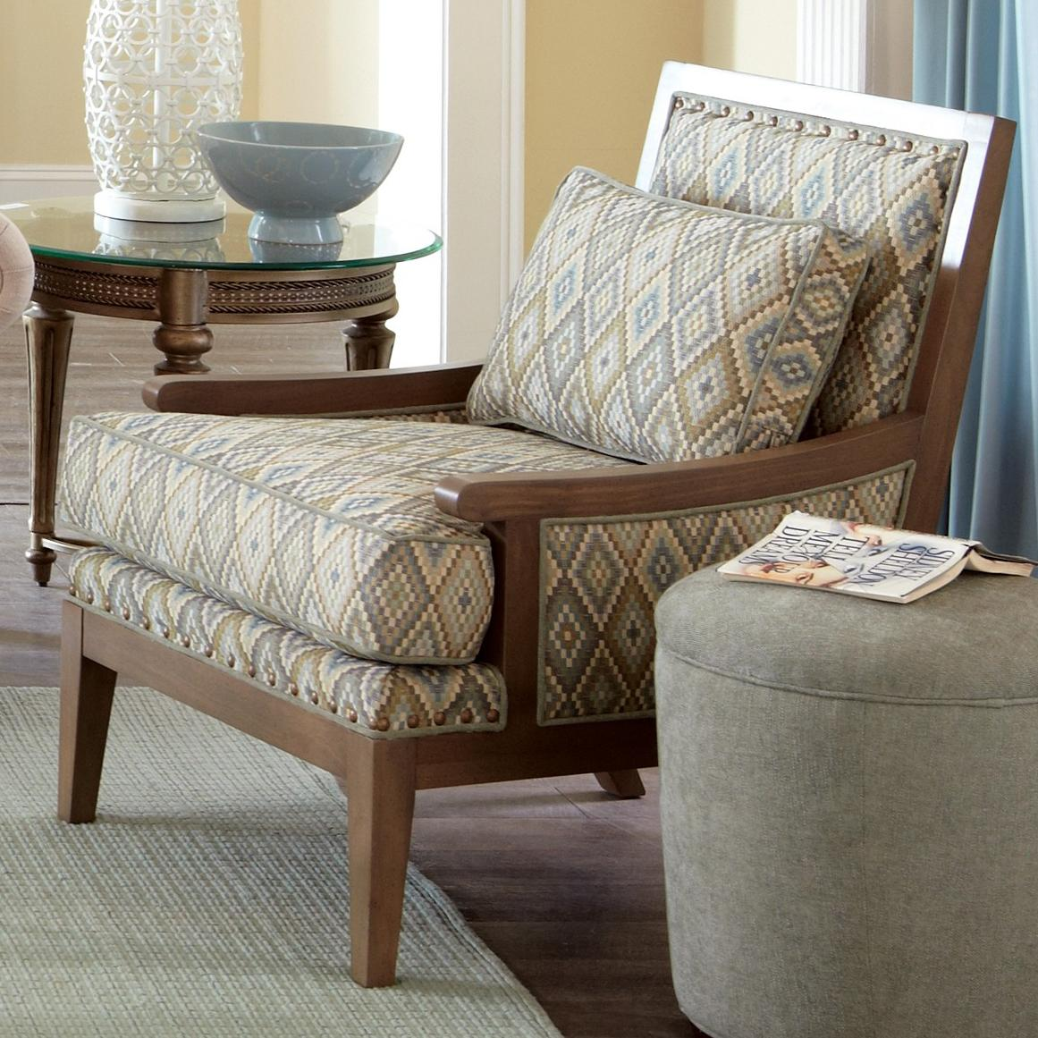 Accent chair contemporary - Contemporary Exposed Wood Accent Chair