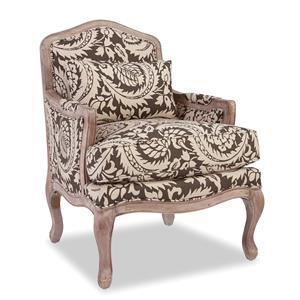 Hickorycraft Accent Chairs Exposed Wood Chair