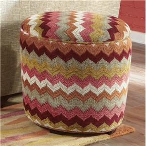 Hickorycraft Accent Ottomans Accent Ottoman