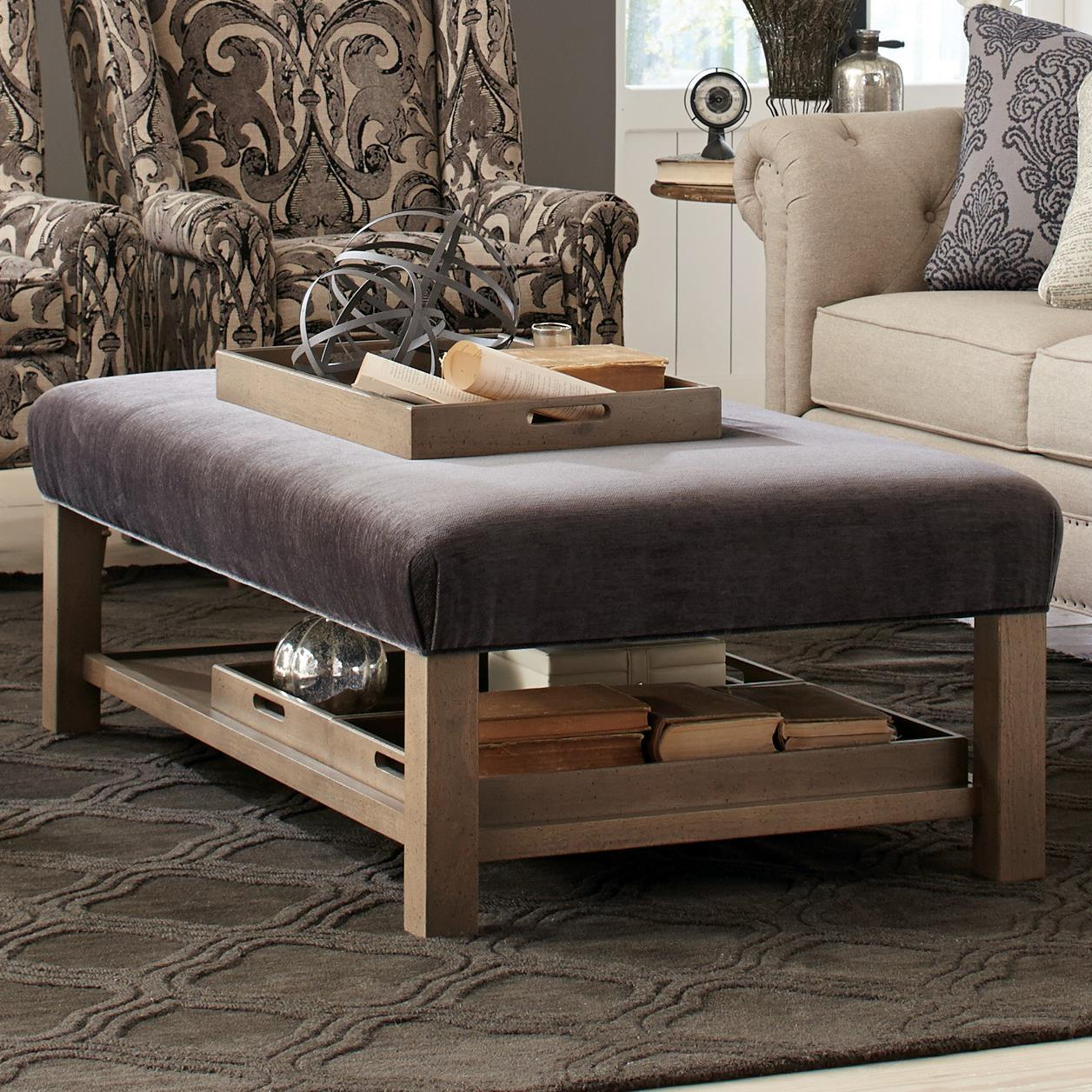 Contemporary storage bench ottoman with three storage - What is an ottoman ...