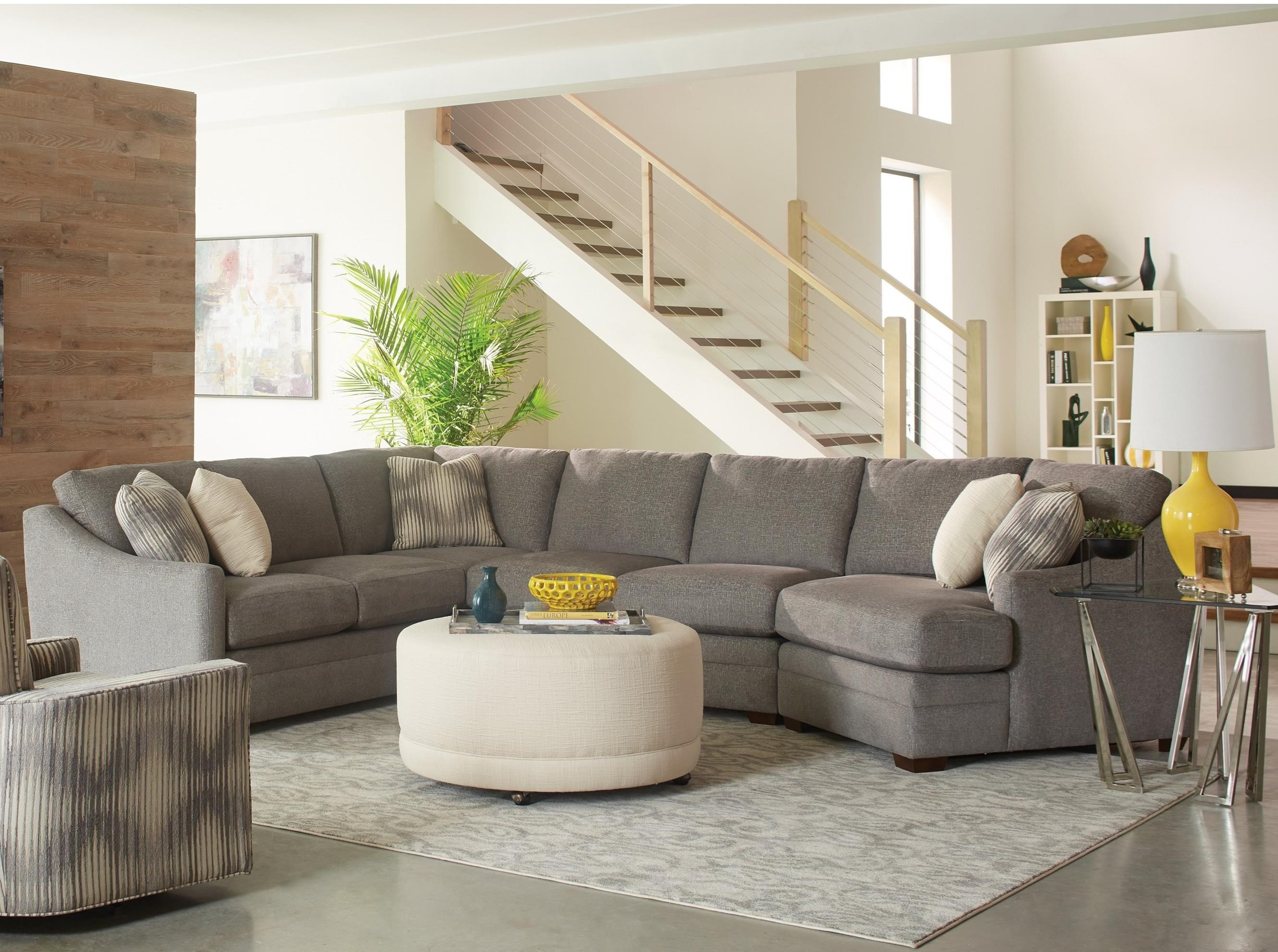 Prime Customizable Three Piece Sectional Sofa With Track Arms And Pabps2019 Chair Design Images Pabps2019Com