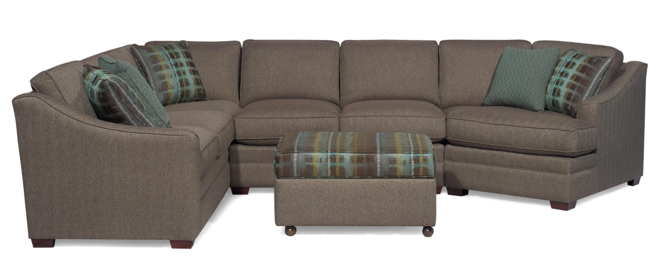 Customizable 3 Piece Sectional With Laf Cuddler By