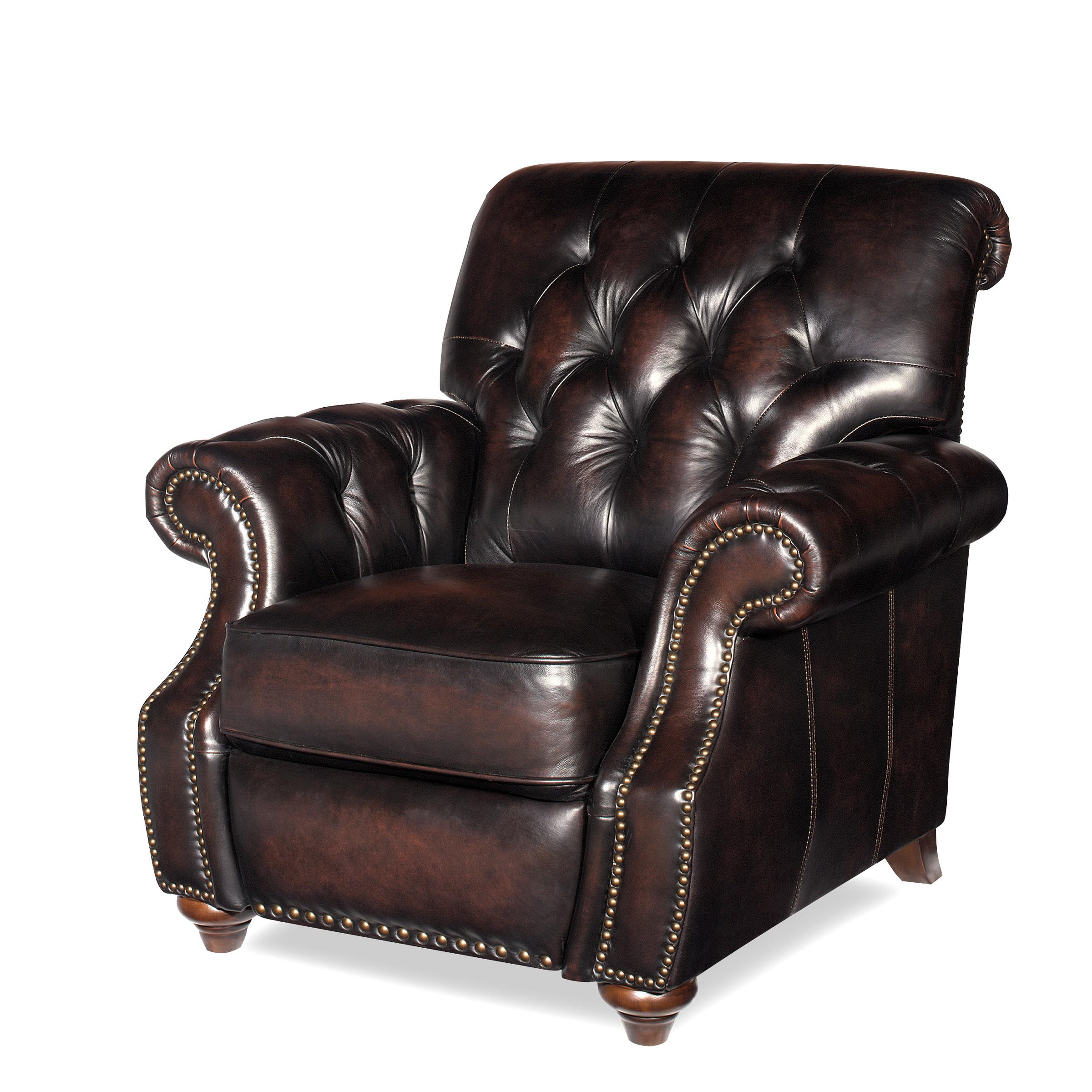 Traditional Recliner Chair with Button Tufting and Nail Head Trim  sc 1 st  Wolf Furniture & Traditional Recliner Chair with Button Tufting and Nail Head Trim ... islam-shia.org