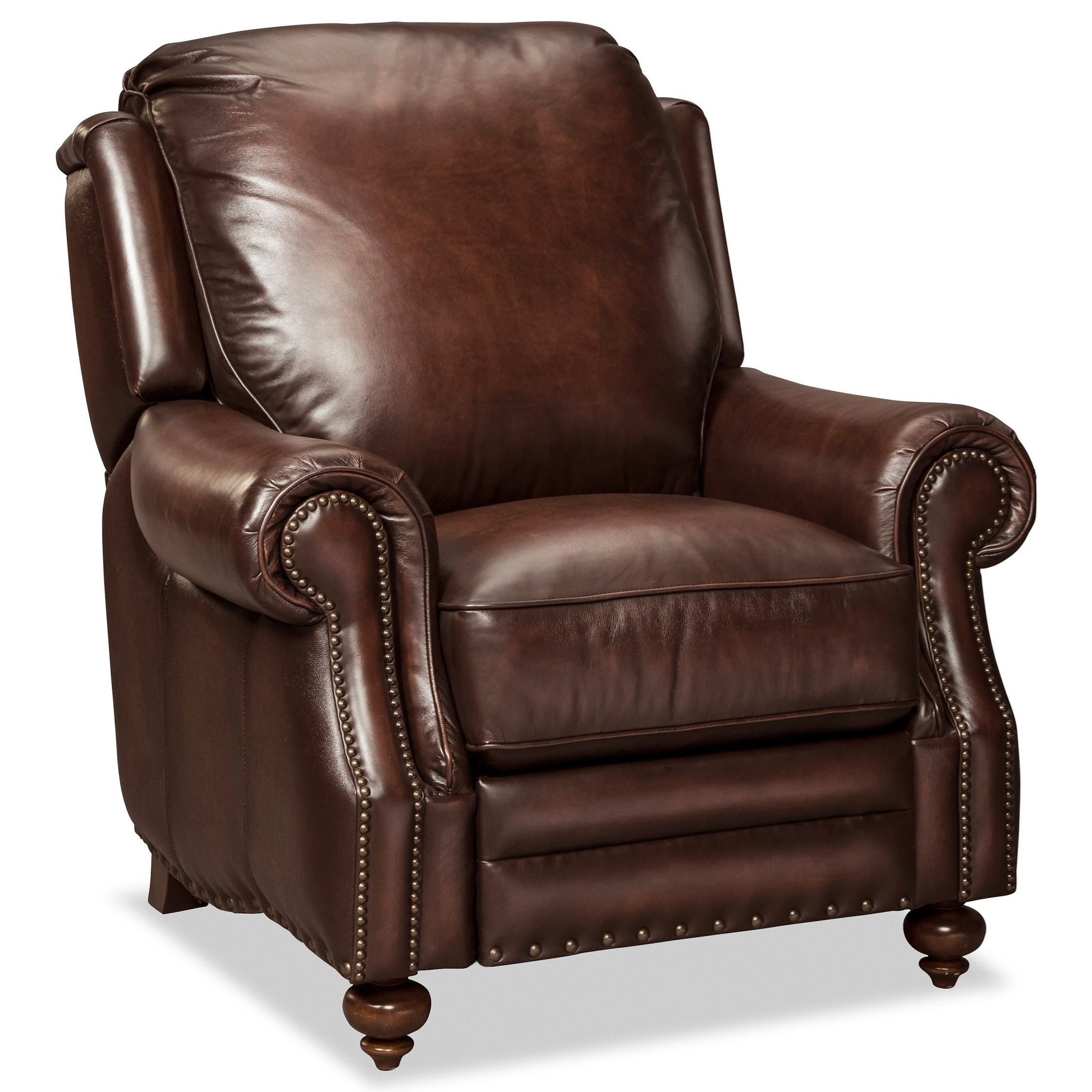 Craftmaster Traditional Leather Recliner By Craftmaster