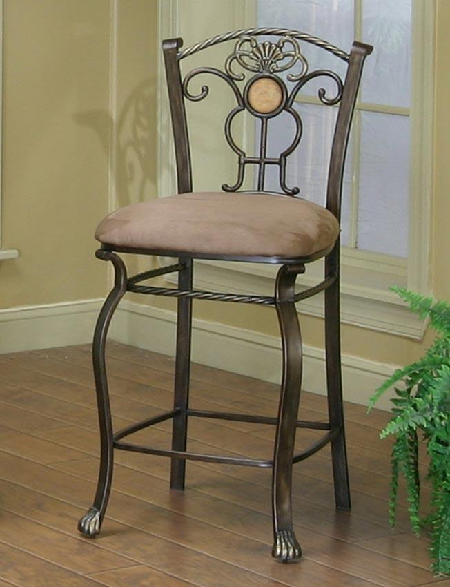 24 Counter Stool With Upholstered Seat By Cramco Inc Wolf And