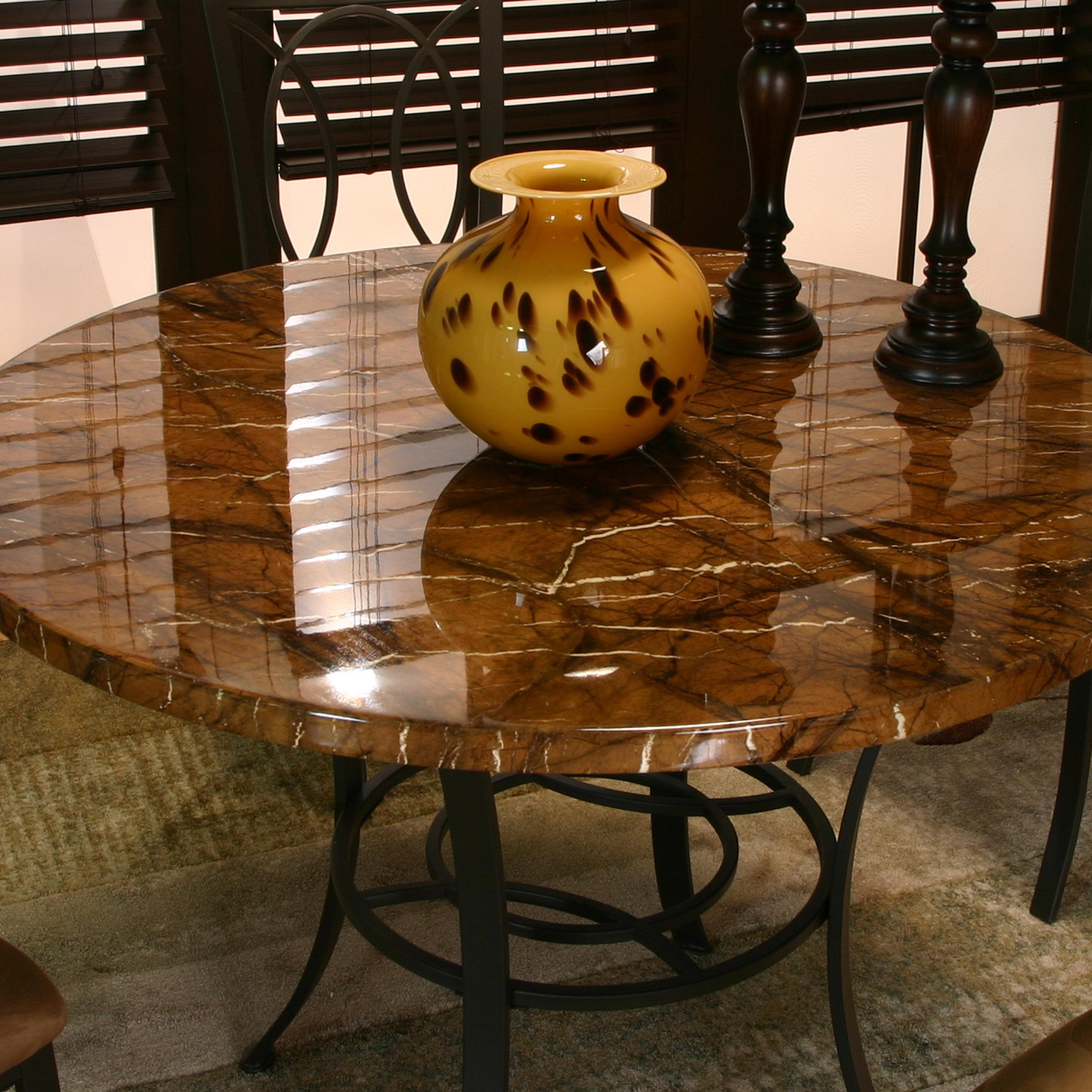 5 Piece Faux Marble Table Top