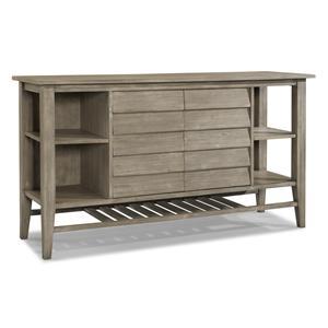 Cresent Fine Furniture Corliss Landing Two Door Sideboard