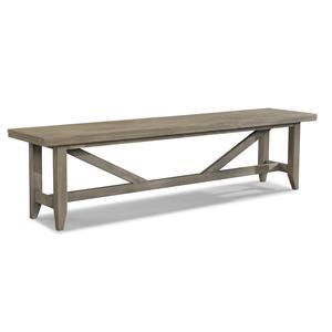 Cresent Fine Furniture Corliss Landing Bench