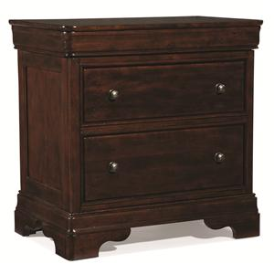 Cresent Fine Furniture Provence Nightstand w/ Power