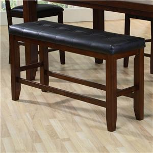 Crown Mark Bardstown Counter Height Bench