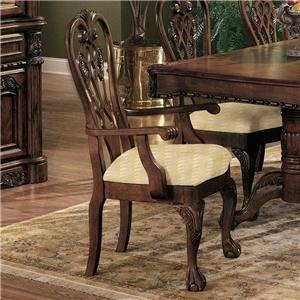 Crown Mark Brussels Dining Arm Chair