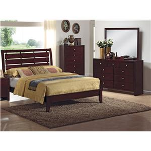 Crown Mark Evan 3PC King Bedroom