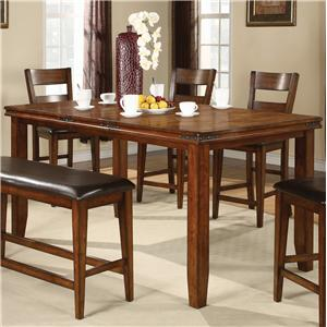 Crown Mark Figaro Counter Height Table