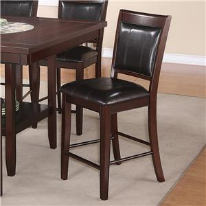 Crown Mark Fulton Counter Height Chair