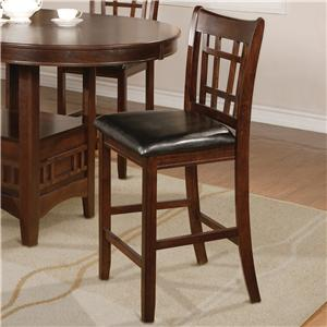 Crown Mark Hartwell Counter Height Chair