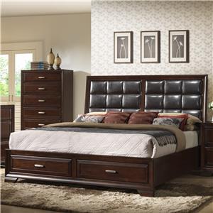 Crown Mark Jacob King Storage Bed