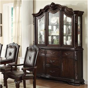 Crown Mark Kiera Buffet and Hutch