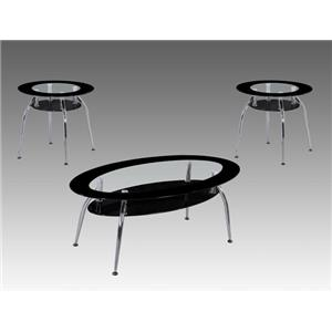 Crown Mark Mila Occasional Table Group