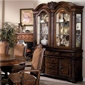 Crown Mark Neo Renaissance Buffet and Hutch