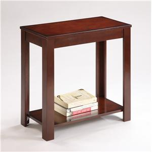 Crown Mark Pierce Chairside Table