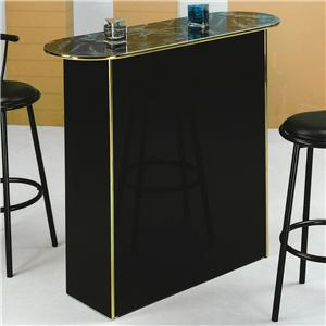 Crown Mark Poly Home Bar Table