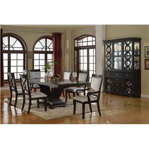Crown Mark Serendipity Formal Dining Room Group