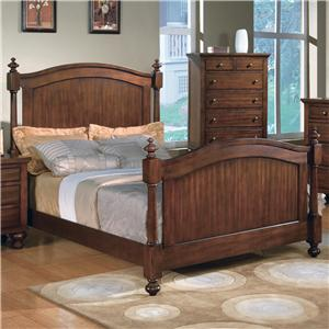 Crown Mark Sommer Queen Headboard and Footboard Bed