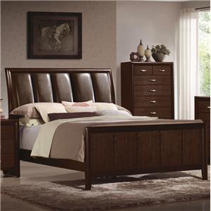 Crown Mark Rivoli Queen Upholstered Bed