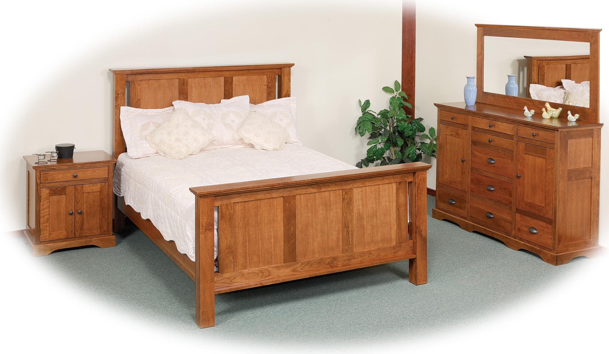 9 Drawer Triple Dresser With 2 Doors By Daniel 39 S Amish Wolf And Gardiner Wolf Furniture