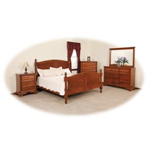 Daniel's Amish Amish Classic King Bedroom Group