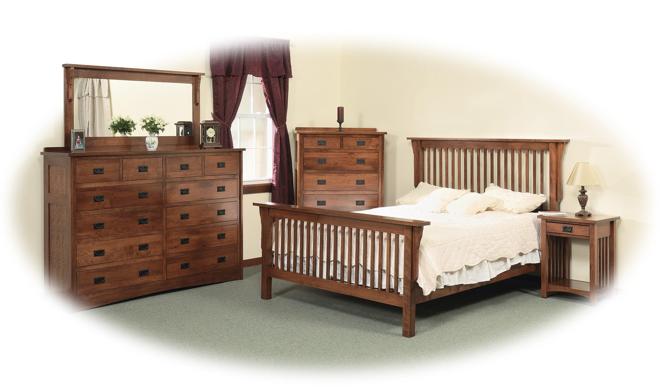 queen frame bed - Wood Frame Bed