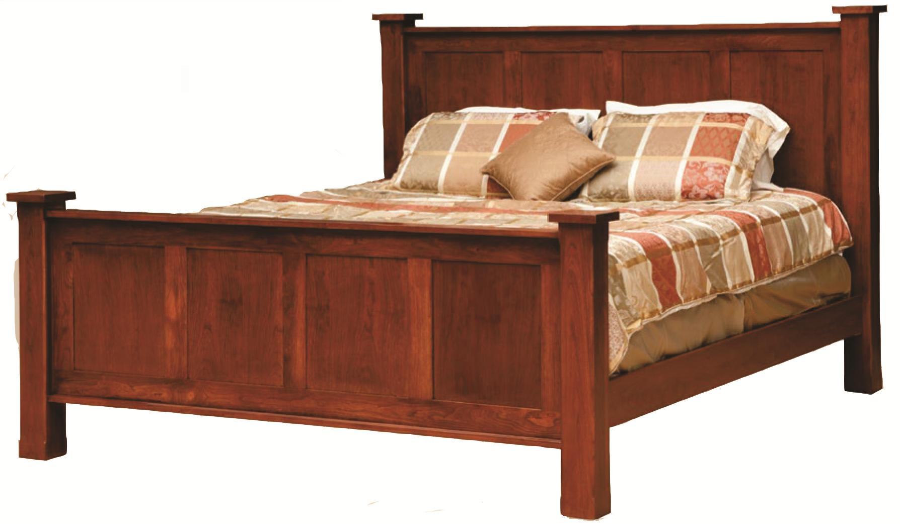 king handcrafted frame bed - Frame Bed