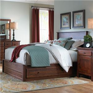 Daniel's Amish Lewiston Queen Storage Bed