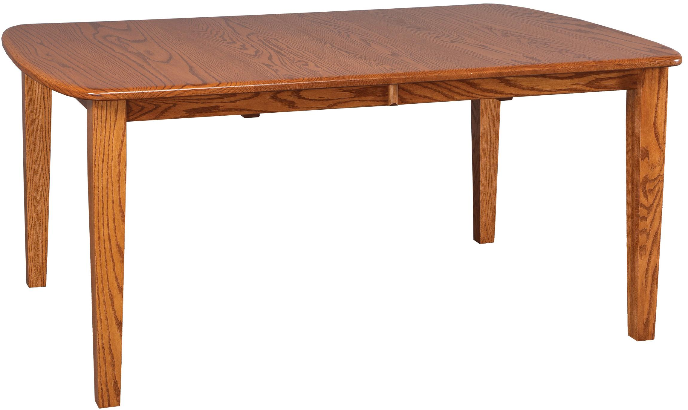 Solid Wood Rectangular Table By Daniel 39 S Amish Wolf And Gardiner Wolf Furniture