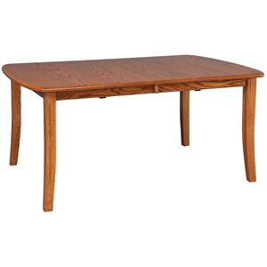 "Daniel's Amish Tables 42"" Solid Wood Table"