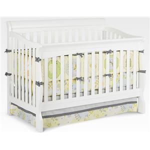 Delta Children's Products Venetian Sleigh 4-in-1 Crib