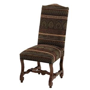 Designmaster Chairs  Strasbourg Carved Side Chair