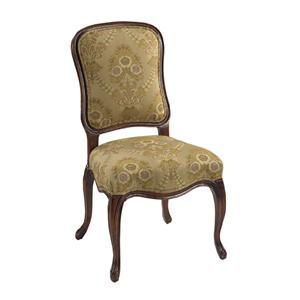 Designmaster Chairs  Lucerne Carved Side Chair